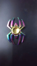 New Colorful Rainbow Spider EDC Fidget Spinner Metal Finger Toy Hand Spinner for ADHD Relieve Anxiety Desk Toys Kids Gift