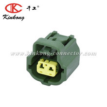 KINKONG 2 way Green Toyota Coolant Temperature Sensor Connector Repair Pigtail 158-0421 PMPS