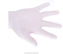 White Powder Free Nitrile Examination Gloves with High Elasticity and Good Breathability