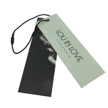 Custom printed hang tag for clothing,Personalized clothing tag