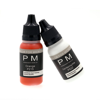 newest  PM-GOOCHIE 73 embroidery colors semi permanent makeup tattoo ink pigment eyebrow embroidery ink