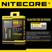 Nitecore New i2 Active Current Distribution Battery Charger with IMR Battery Restoration
