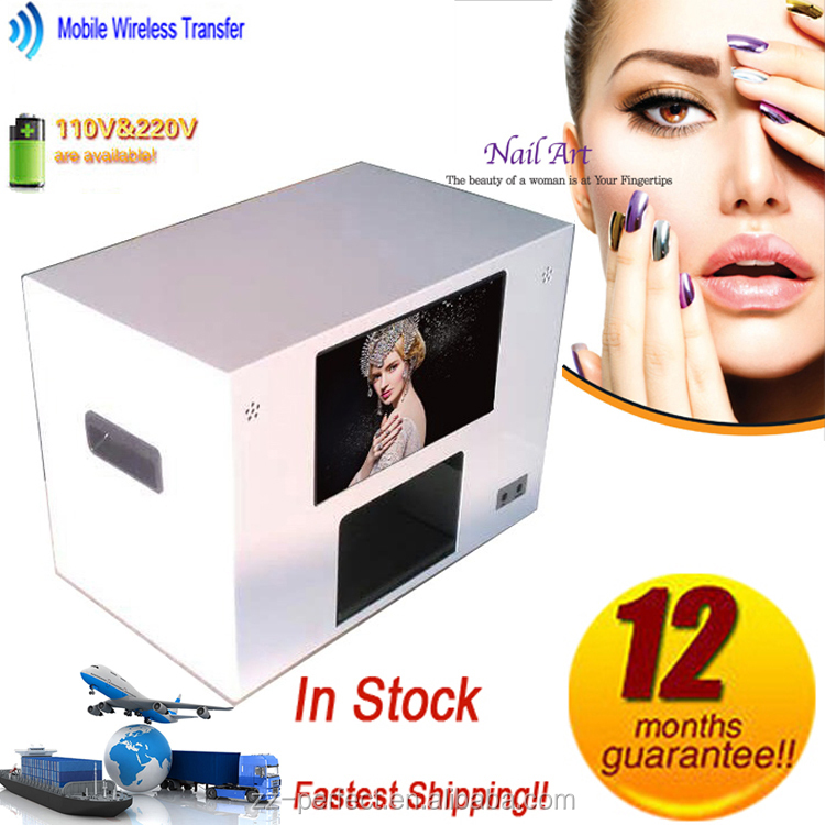 mobile finger nail art designs printing machine