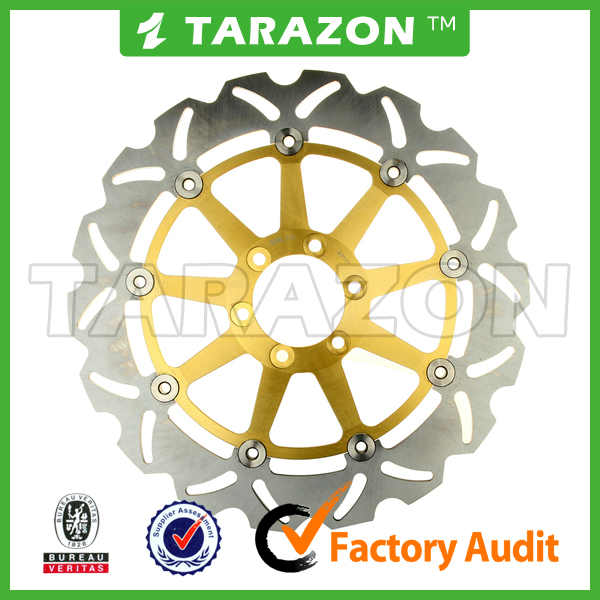 TARAZON top quality wave floating disc rotors for motorcycle Aprilia