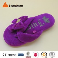 shoes flower accessory fashion flip flops sandal for girls