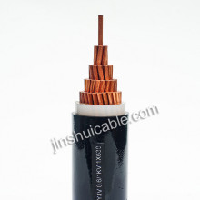SWA /steel wire armoured cable xlpe insulated pvc sheath power cable