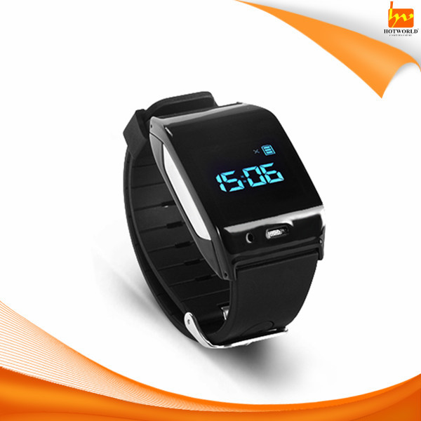 GPS tracking sos heart rate monitor wrist watch phone for old people