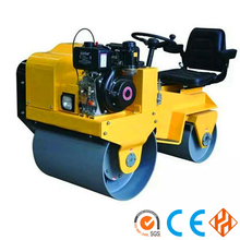 1000kg Hydraulic Drive Double Drum Earth Compactor Machine,new road roller price