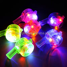 colorful led flash whistle cheaper whistle
