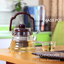 New Product Hot Selling Chinese Traditional Glass Tea Pot With Infuser