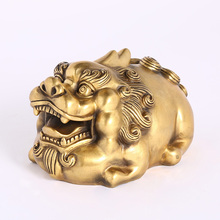 Brass pixiu figurine for home decorations and cute gifts