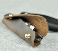 Boshiho New Design Genuine leather Earphone Cover