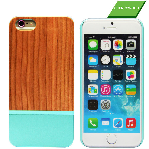 Wholesales Creative Cell Phone Case For Iphone6 6plus Laser carving Wooden Cell Case Cover