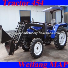 45hp 4wd agricultural tractor with 4 in 1 bucket