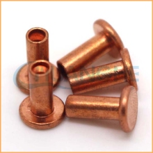 Low price wholesale!copper tube rivets