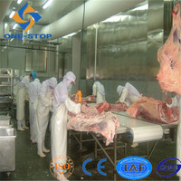 meat processing machine for cattle cow buffalo bovine slaughterhouse