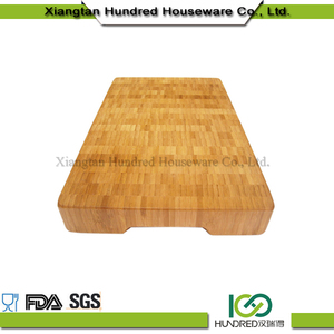 Wholesale Natural Material Food Healthy Bamboo Cutting Board Wooden Chopping Blocks