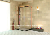 Foshan 2012 new 2 in 1 tub and shower