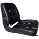 Large Black PVC Cover Forklift Seat Cushions
