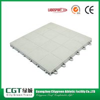 New model modular plastic multi-use suspended nature core flooring
