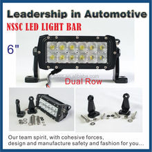 Super Bright 6Inch 36W Cree Led Driving Work Light Bar Spot Offroad 4WD Suv Bar LED Light
