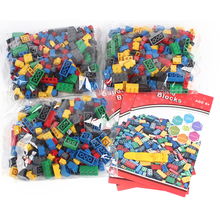 DIY Intelligence Bricks 1000 pcs Building Blocks for Kids