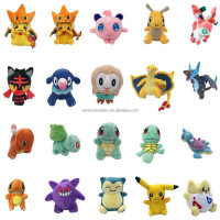 Pokemon series Pocket Monster Pikachu Eevee Plush Toys Soft Stuffed Animal Doll Gifts