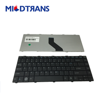 Hot sale high quality replacement notebook keyboard for Fujitsu lifebook AH531 RU