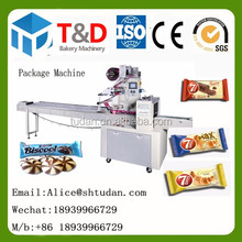 Economic plastic bag blister packing machine small price dorayaki cake plastic bag sealed snack food pakaging machine automatic