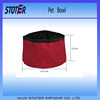 Portable Folding Travel Dog Pet Food Water Bowl