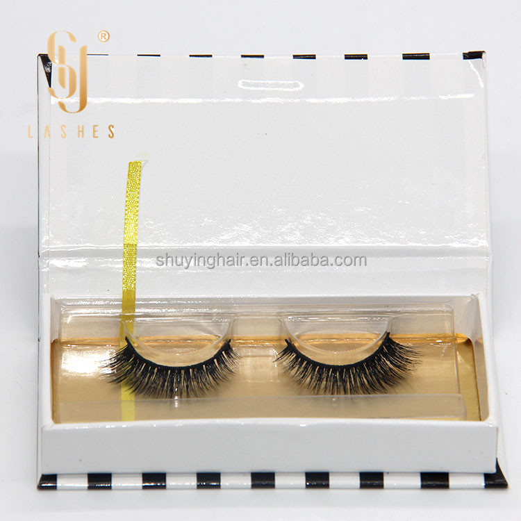 3d silk eyelashes extentions with silk lashes private label and custom package