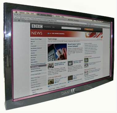 Interactive Touch Screen LCD's