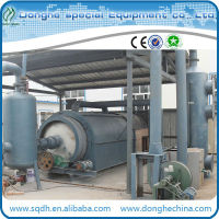 Hot sale waste plastic oil extraction equipment with CE ISO