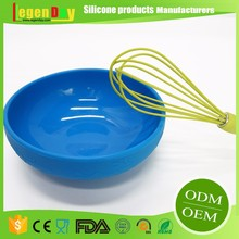 FDA Standard Food Grade Rotary Silicone Hot-Selling Cheap Kitchen Egg Whisks