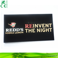 eco-friendly pvc bar mat noctilucent counter mat