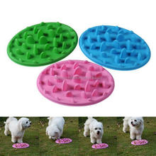 New Puppy Dog Slow Down Eating Feeder Dish Pet Dog Cat Feeding Food Bowl Hot