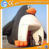 Cute Penguin inflatable advertising tent, Party used inflatable air tent party tent