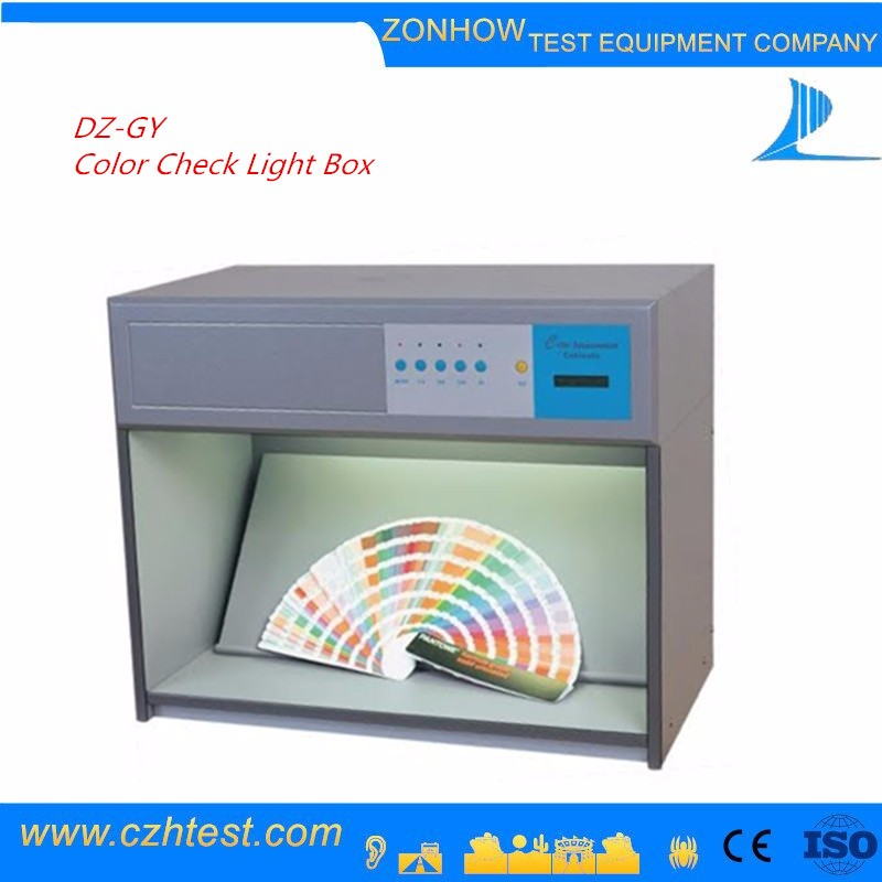 Lab equipment color matching textile light box color assessment cabinet