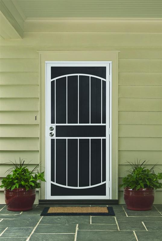 High quality used metal security screen doors