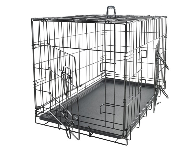 Double Tiers Dog Kennel Cage