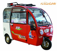 low price adult electric tricycle with four seats TCB-1