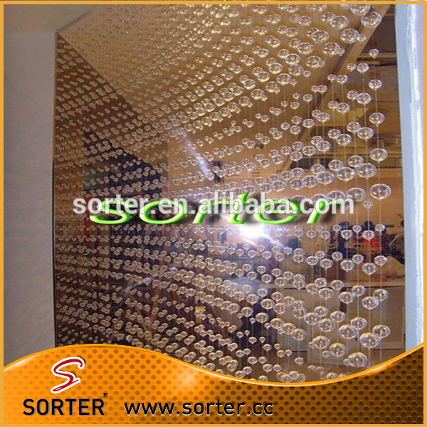 Fashion Custom Home Decoration Crystal Beaded Door Curtain