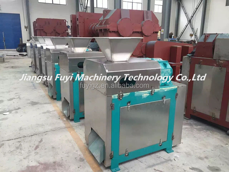 High quality calcium magnesium phosphate briquetting machine