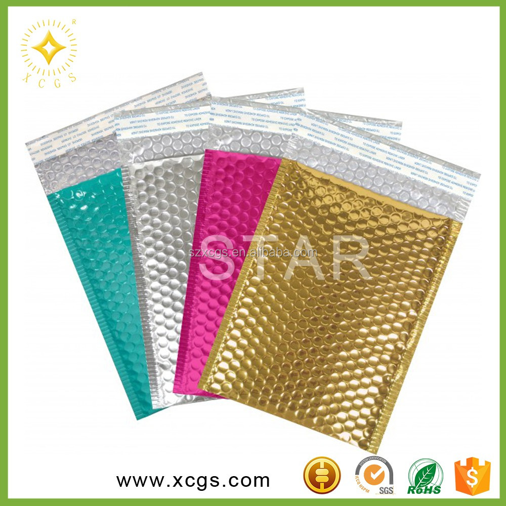 clothes packaging bags/cosmetic bag plastic/poly mailer envelopes with self adhesive seal