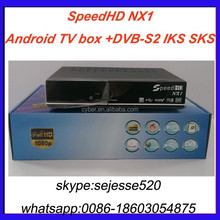 2015 speed hd NX1 hd dvb-s2 twin tuner sks and iks free forever satellite receiver receptor for south america