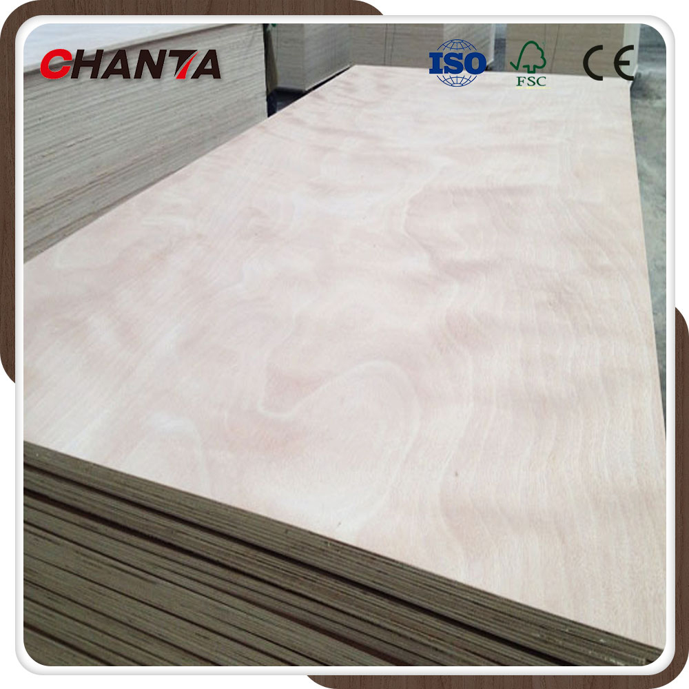 China Original Factory Quality 18mm Okoume Commercial Plywood Manufacturer Price