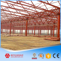 Prebuilt Steel Frame Structure Prefab Warehouse Sheds Construction, Structural Steel Factory Building
