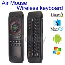 new products 2016 Wholesale KB-91 Wireless Keyboard AirMouse, large wireless mouse, keyboard and mouse combo