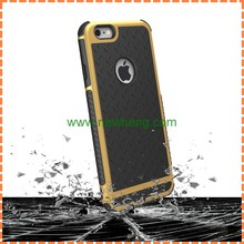 Anti-slip TPU PC Double color Mobile Phone Case Back Cover for iphone 6 6s