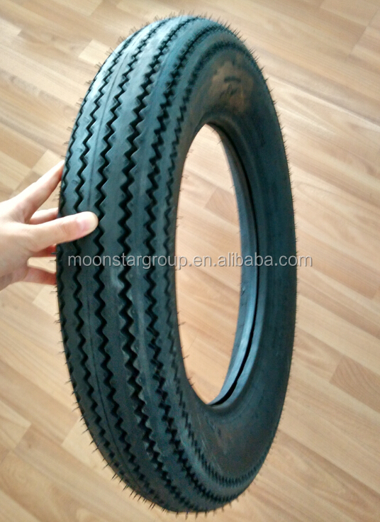 5.00-16 sawtooth pattern China motorcycle tyre manufacturers